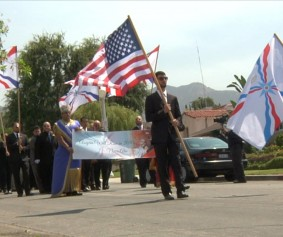Processional for Malfono Ninos Aho - Funeral Services, Los Angeles, CA